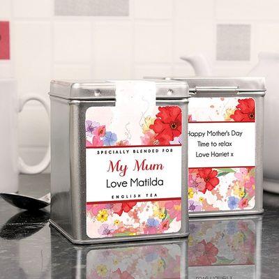 Blossom Tea Tin