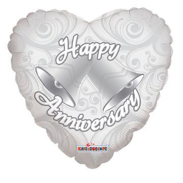 Ringing Bells Anniversary Balloon