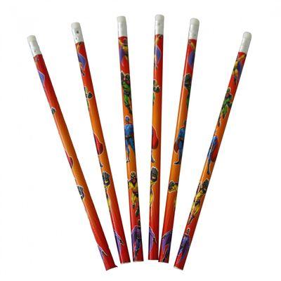 Super Hero Pencils