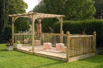 Forest Garden Ultima Pergola Deck Kit 2.4x4.8m