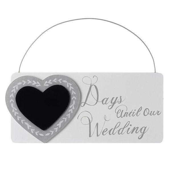Day till our wedding sign