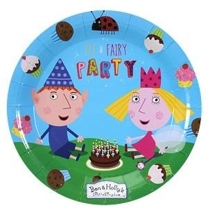 Ben and Hollys Little Kingdom Plates
