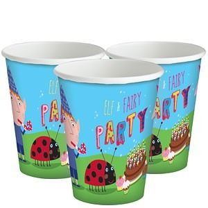 Ben and Holly Paper Cups