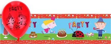 Ben and Holly Banner and Balloon