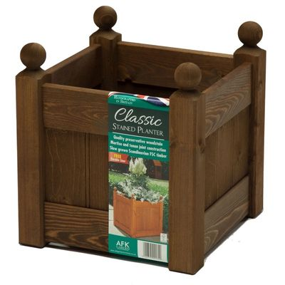 AFK Large Classic Planter - Chestnut