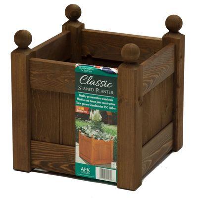 AFK Large Classic Planter - Chestnut