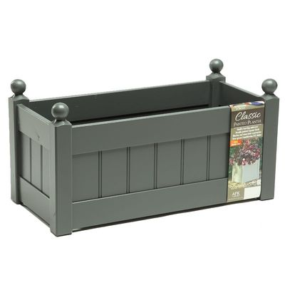 AFK Classic Painted Trough - Charcoal
