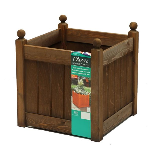 AFK Extra Large Classic Planter - Chestnut