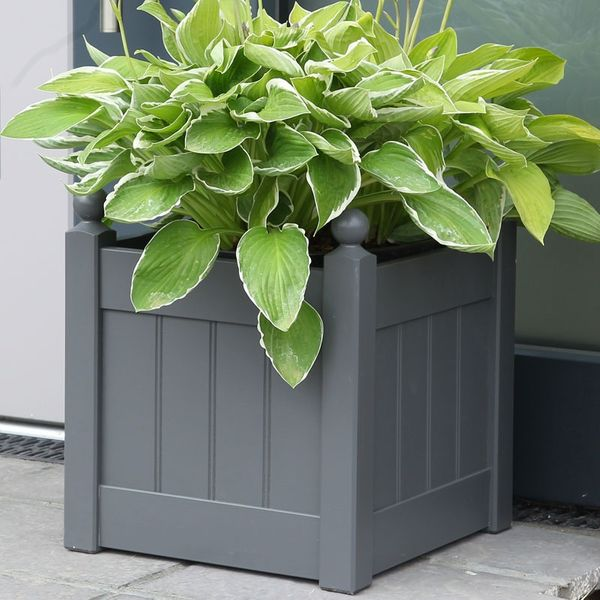 AFK Classic Painted Planter - Charcoal