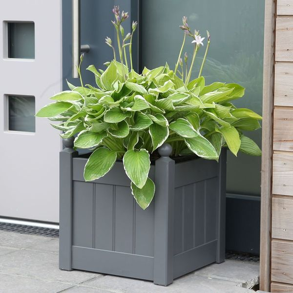 AFK Small Classic Painted Planter - Charcoal