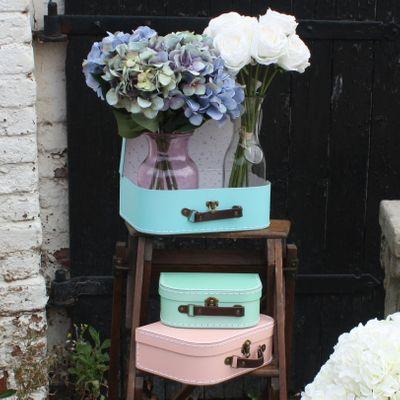 Pastel Suitcases