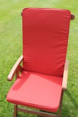 GreatGardens Full Cushion for Large Multi Position Chair Terracotta