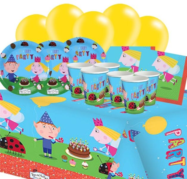 Ben and Holly Party Pack