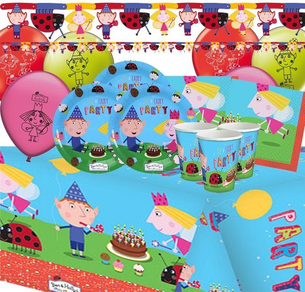 Ben and Holly Deluxe Party Pack