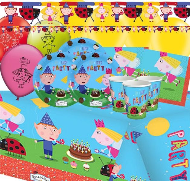 Ben and Holly Deluxe Party Pack x 16 pax