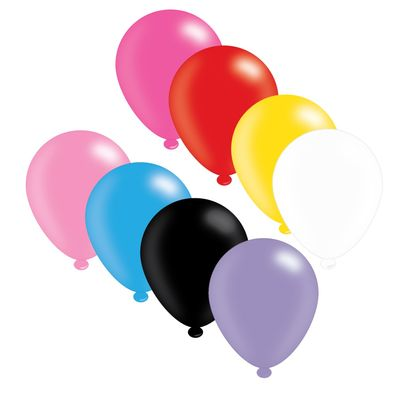 Assorted Latex Balloons