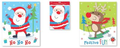Plastic Santa Sacks