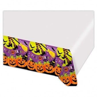 Witches Crew Plastic Table Cover