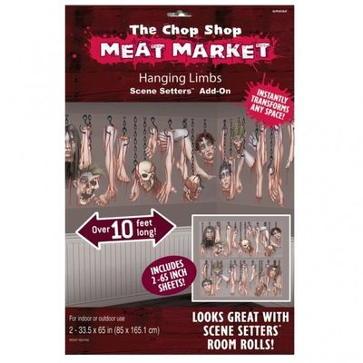 Meat Market Scene Setter
