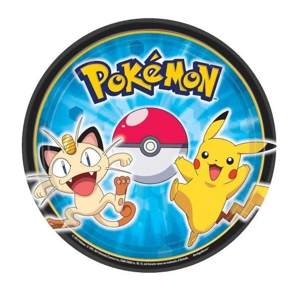 Pokemon 18cm Plates