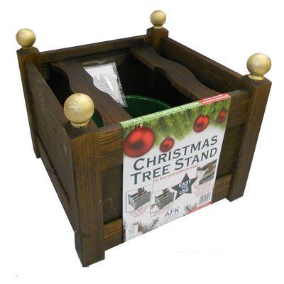 AFK Christmas Tree Planter - Chestnut