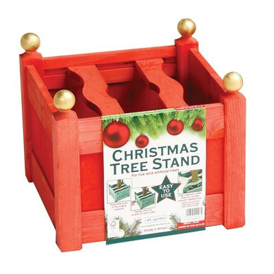 AFK Christmas Tree Planter - Red