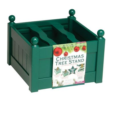 AFK Large Painted Christmas Tree Stand - Green