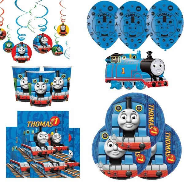 Thomas the Tank Deluxe Party Pack