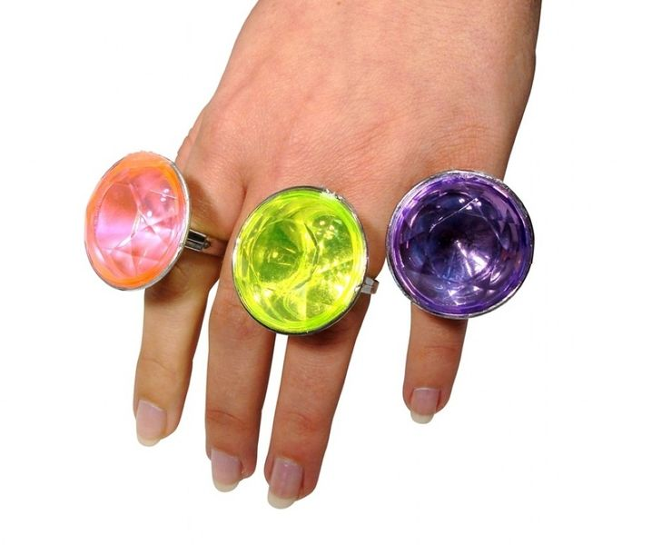 Jumbo Stone Rings