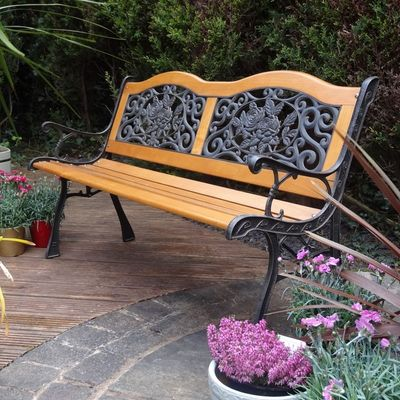 Rondeau Leisure Etienne Resin Back Bench