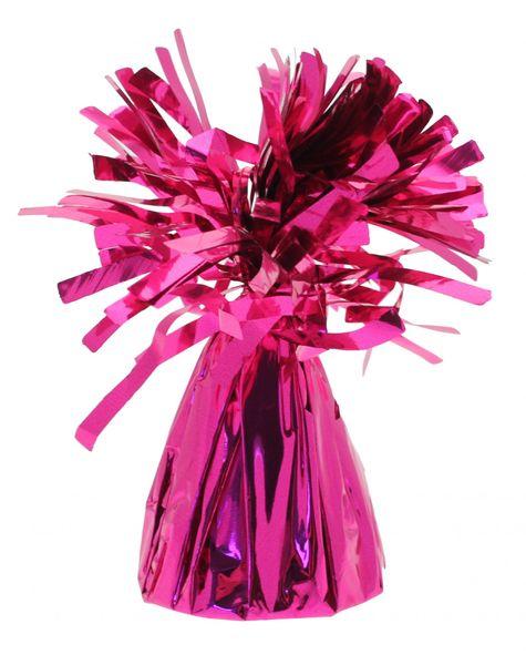 hot pink balloon weight