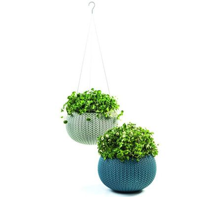 Small Cozie Hanging Planters with Chain- Mixed