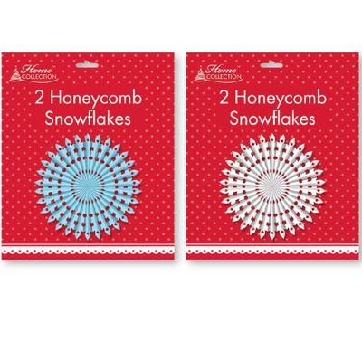 Honeycomb Snowflake