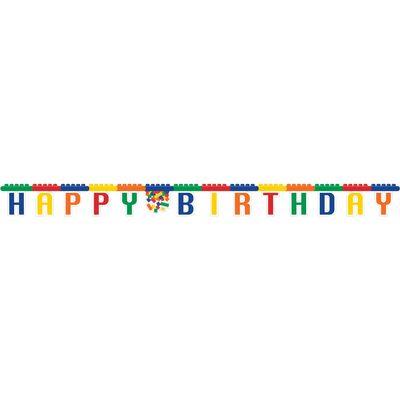 Block Party Birthday Banner