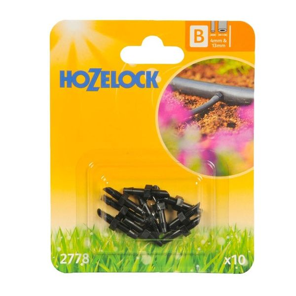 Hozelock 4mm Straight Connector (Pack of 10)