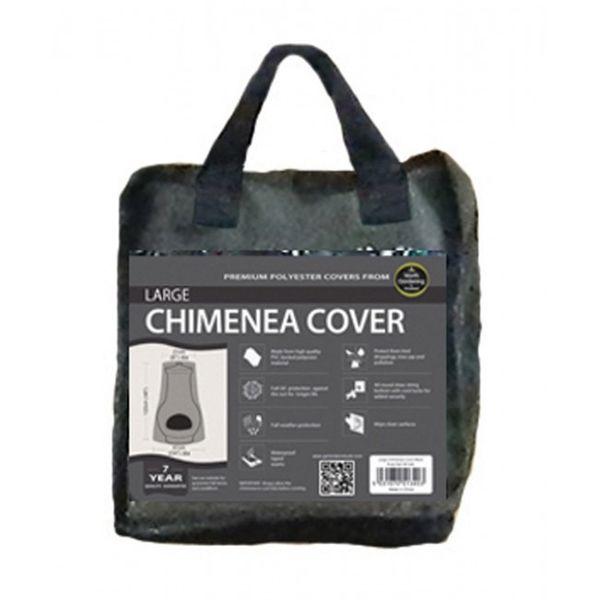 Garland Large Chimenea Cover - Black Bag