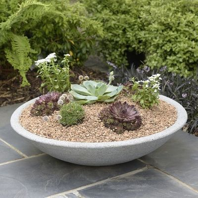 Stewart 15cm Varese Low Bowl - Alpine Grey Lifestyle