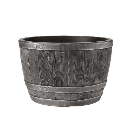 Stewart 61cm Blenheim Half barrel - Pewter Product
