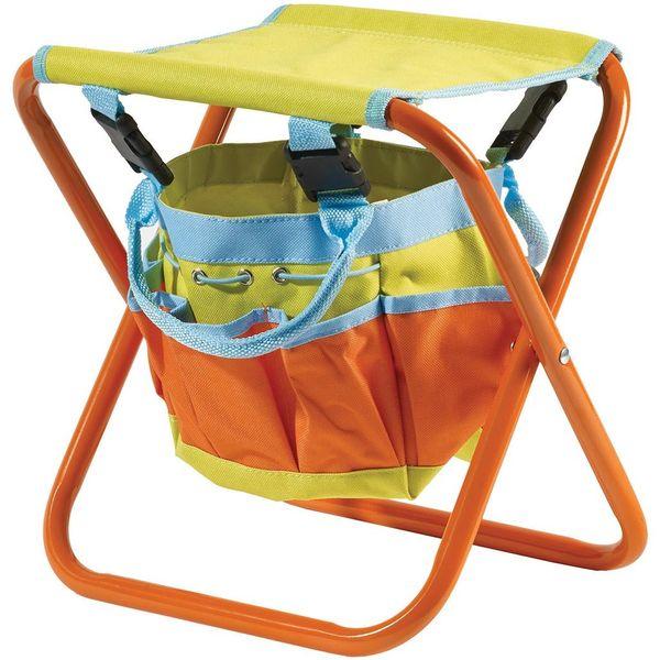 Briers Kids Tool Bag Folding Seat Lifestyle