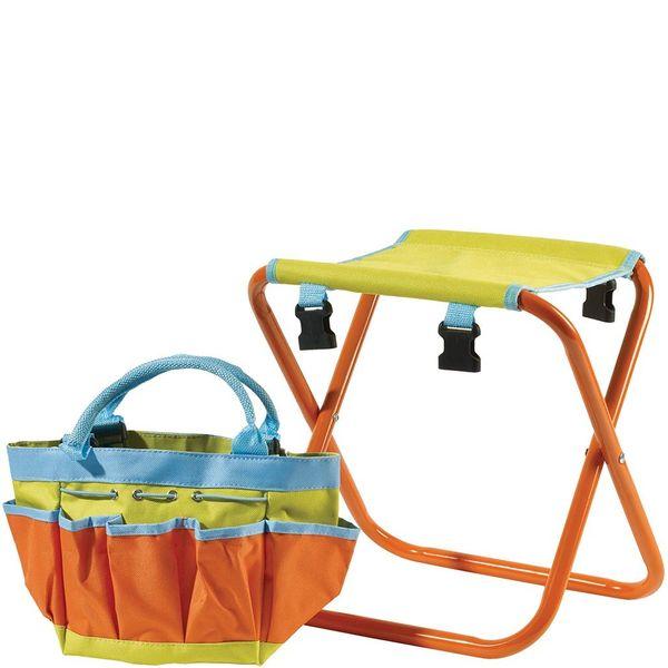 Briers Kids Tool Bag Folding Seat Lifestyle 2