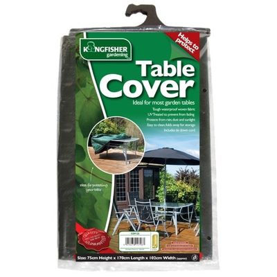 Kingfisher Rectangle Table Cover - Green