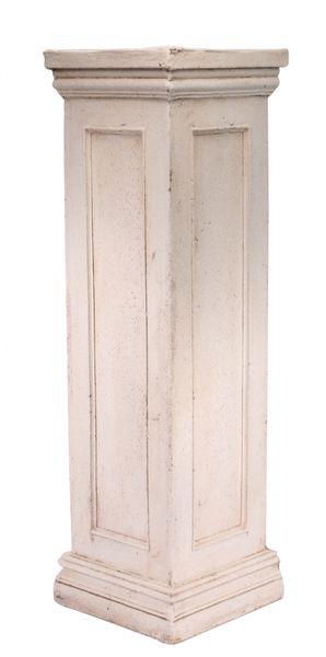 Cream Pedestal