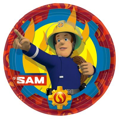 Fireman Sam Lunch Plate