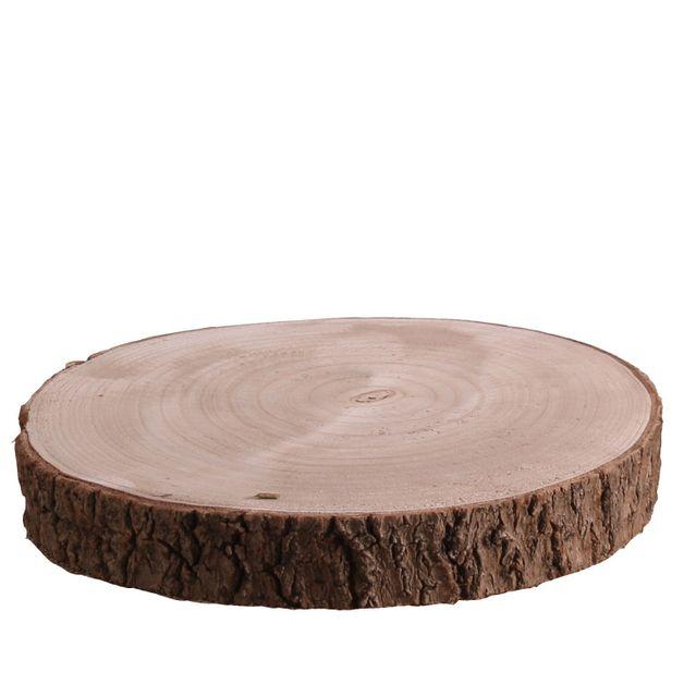 26 To 30cm X3 5cm Wood Slice 1 20 Wedding Mall
