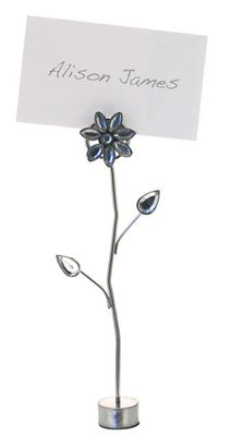 Flower Name Card Holder with Card
