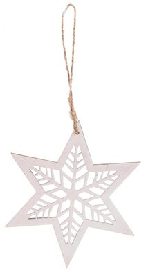 White Hanging Star