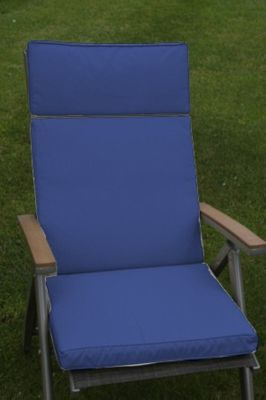 Mulit Position Recliner Cushion Navy Blue
