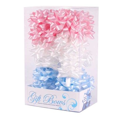 Blue / White /Pink Galaxy Bows