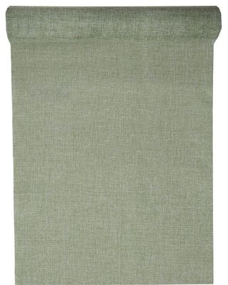 Green Rustic Table Runner