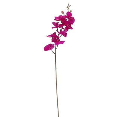 pink silk flower